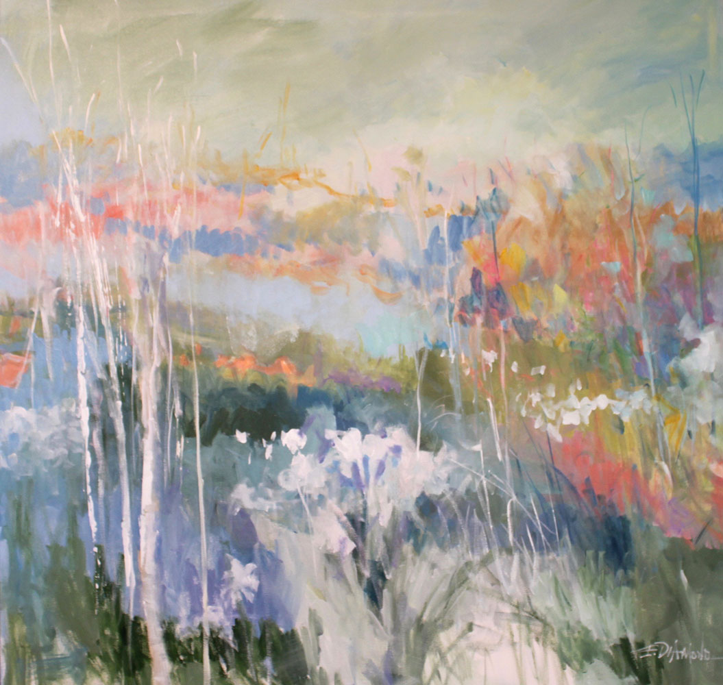 Abstract Art Limited Editions Ellen Diamond Coastal And