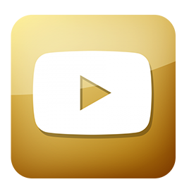 youtube icon gold